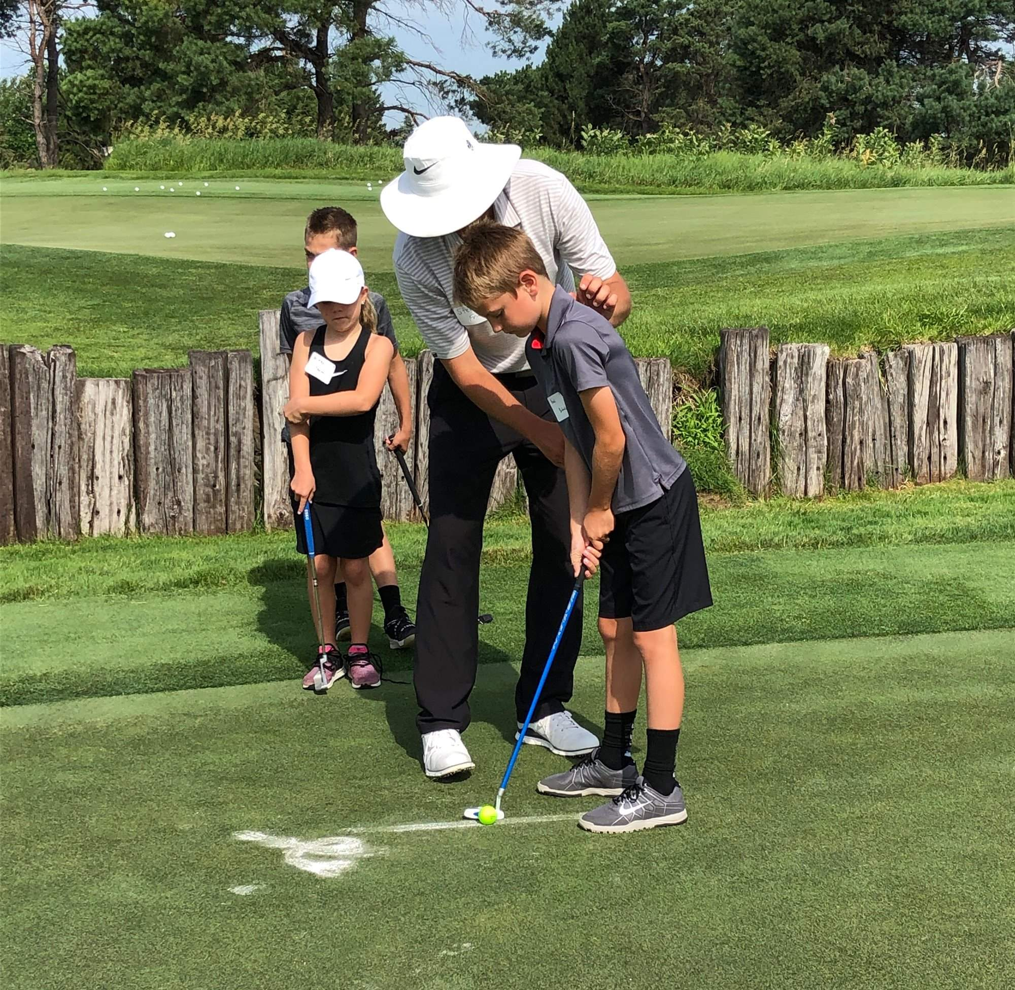 Junior-Golf-Putting-Lesson